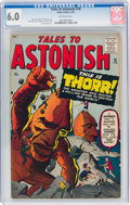 Silver Age (1956-1969):Science Fiction, Tales to Astonish #16 (Marvel, 1961) CGC FN 6.0 Off-white pages....