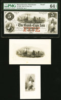 Obsoletes By State:Massachusetts, Gloucester, MA- Bank of Cape Ann $5 18__ as G8a Proof PMG Choice Uncirculated 64 EPQ.. ... (Total: 3 items)