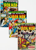 Bronze Age (1970-1979):Superhero, Iron Man Group of 9 (Marvel, 1970-75) Condition: Average VF.... (Total: 9 Comic Books)