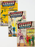 Silver Age (1956-1969):Superhero, Justice League of America Group of 18 (DC, 1962-73) Condition: Average VG.... (Total: 18 Comic Books)