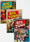 Golden Age (1938-1955):Crime, Big Town Group 11 (DC, 1951-54) Condition: Average VG....