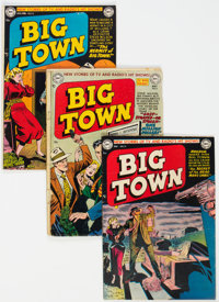 Big Town Group 11 (DC, 1951-54) Condition: Average VG.... (Total: 11 Items)
