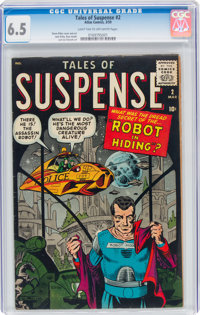 Tales of Suspense #2 (Marvel, 1959) CGC FN+ 6.5 Light tan to off-white pages