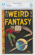 Golden Age (1938-1955):Science Fiction, Weird Fantasy #16 (#4) (EC, 1950) CBCS FN- 5.5 Off-white to white pages....