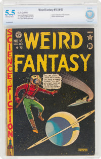 Weird Fantasy #16 (#4) (EC, 1950) CBCS FN- 5.5 Off-white to white pages