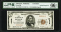 National Bank Notes:Alabama, Decatur, AL - $5 1929 Ty. 1 First National Bank Ch. # 10336 PMG Gem Uncirculated 66 EPQ.. ...