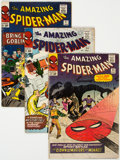 Silver Age (1956-1969):Superhero, The Amazing Spider-Man Group of 5 (Marvel, 1965-72) Condition: Average VG.... (Total: 5 Comic Books)