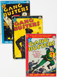 Gang Busters Group of 10 (DC, 1949-54) Condition: Average VG.... (Total: 10 Items)