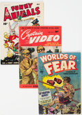 Golden Age (1938-1955):Miscellaneous, Fawcett Golden Age Group of 23 (Fawcett Publications, 1940s-50s) Condition: Average VG-.... (Total: 23 Items)