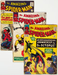 Silver Age (1956-1969):Superhero, The Amazing Spider-Man Group of 5 (Marvel, 1964-65) Condition: Average GD/VG.... (Total: 5 Comic Books)