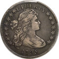 Early Dollars, 1795 $1 Draped Bust, Off-Center, B-14, BB-51, R.2, VF30 PCGS....