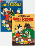 Golden Age (1938-1955):Cartoon Character, Four Color #456 and 495 Uncle Scrooge Group (Dell, 1953) Condition: Average VG.... (Total: 2 Comic Books)