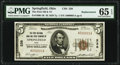 Springfield, OH - $5 1929 Ty. 1 The First National Bank & Trust Company Ch. # 238 PMG Gem Uncirculated