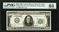 Fr. 2200-H $500 1928 Federal Reserve Note. PMG Choice Uncirculated 64
