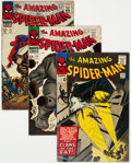 Silver Age (1956-1969):Superhero, The Amazing Spider-Man #30, 41, and 43 Group (Marvel, 1965-66) Condition: Average VG/FN.... (Total: 3 Comic Books)