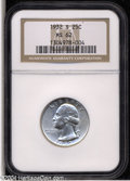 Washington Quarters: , 1932-S 25C MS62 NGC....