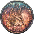 Seated Dimes, 1879 10C F-102a, R.4, MS67 PCGS....
