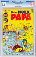 Silver Age (1956-1969):Cartoon Character, Baby Huey and Papa #11 File Copy (Harvey, 1964) CGC NM/MT 9.8 Off-white pages....