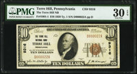Terre Hill, PA - $10 1929 Ty. 1 The Terre Hill National Bank Ch. # 9316 PMG Very Fine 30 EPQ