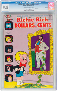 Richie Rich Dollars and Cents #41 File Copy (Harvey, 1971) CGC NM/MT 9.8 Off-white to white pages