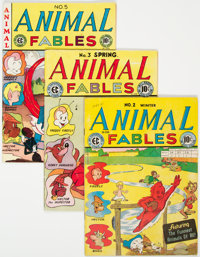 Animal Fables Group of 4 (EC, 1946-47) Condition: Average VG/FN.... (Total: 4 Comic Books)