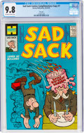Silver Age (1956-1969):Humor, Sad Sack Comics #7 File Copy (Harvey, No Date) CGC NM/MT 9.8 Off-white to white pages....