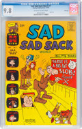 Silver Age (1956-1969):Humor, Sad Sad Sack World #1 File Copy (Harvey, 1964) CGC NM/MT 9.8 Off-white to white pages....