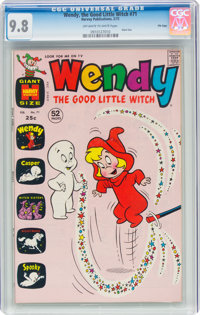 Wendy, the Good Little Witch #71 File Copy (Harvey, 1972) CGC NM/MT 9.8 Off-white to white pages