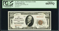 National Bank Notes:Idaho, Coeur d'Alene, ID - $10 1929 Ty. 1 First National Bank Ch. # 13288 PCGS Gem New 66PPQ.. ...
