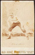 Baseball Cards:Singles (Pre-1930), 1888-89 N173 Old Judge Cabinet Harry Stovey (Hands on Knees)....