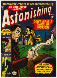 Astonishing #16 (Atlas, 1952) Condition: VF-