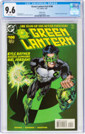 Modern Age (1980-Present):Superhero, Green Lantern V3#100 Variant Cover (DC, 1998) CGC NM+ 9.6 White pages....