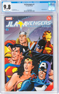 Modern Age (1980-Present):Superhero, JLA/Avengers #1 (DC, 2003) CGC NM/MT 9.8 White pages....