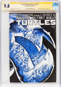 Teenage Mutant Ninja Turtles #2 Signature Series: Kevin Eastman (Mirage Studios, 1984) CGC NM/MT 9.8 White pages