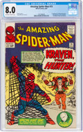 Silver Age (1956-1969):Superhero, The Amazing Spider-Man #15 (Marvel, 1964) CGC VF 8.0 Off-white to white pages....