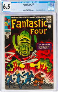 Fantastic Four #49 (Marvel, 1966) CGC FN+ 6.5 Off-white to white pages