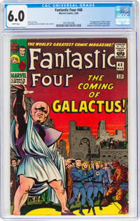 Fantastic Four #48 (Marvel, 1966) CGC FN 6.0 White pages