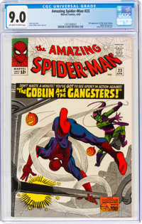 The Amazing Spider-Man #23 (Marvel, 1965) CGC VF/NM 9.0 Off-white to white pages