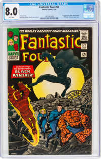 Fantastic Four #52 (Marvel, 1966) CGC VF 8.0 White pages
