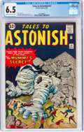 Silver Age (1956-1969):Science Fiction, Tales to Astonish #31 (Marvel, 1962) CGC FN+ 6.5 Cream to off-white pages....