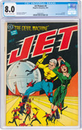 Golden Age (1938-1955):Science Fiction, Jet Powers #3 (Magazine Enterprises, 1951) CGC VF 8.0 Off-white to white pages....