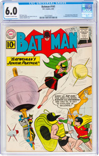 Batman #141 (DC, 1961) CGC FN 6.0 Off-white to white pages