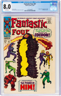 Fantastic Four #67 (Marvel, 1967) CGC VF 8.0 White pages