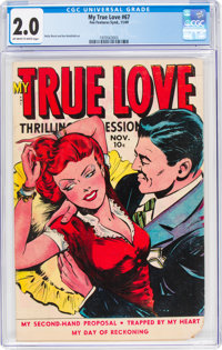 My True Love #67 (Fox Features Syndicate, 1949) CGC GD 2.0 Off-white to white pages