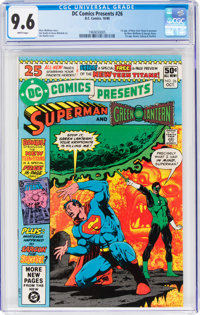 DC Comics Presents #26 Superman and Green Lantern (DC, 1980) CGC NM+ 9.6 White pages