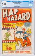 Golden Age (1938-1955):Humor, Hap Hazard Comics #22 (Ace, 1948) CGC VG/FN 5.0 Cream to off-white pages....