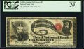 New York, NY - $2 Original Fr. 387a The Third National Bank Ch. # 87 PCGS Very Fine 20