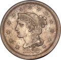 1868 10C Ten Cents, Judd-647, Pollock-720, Low R.6, PR58 PCGS....(PCGS# 60865)
