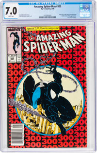 The Amazing Spider-Man #300 (Marvel, 1988) CGC FN/VF 7.0 White pages