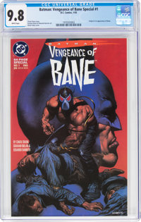 Batman: Vengeance of Bane Special #1 (DC, 1993) CGC NM/MT 9.8 White pages